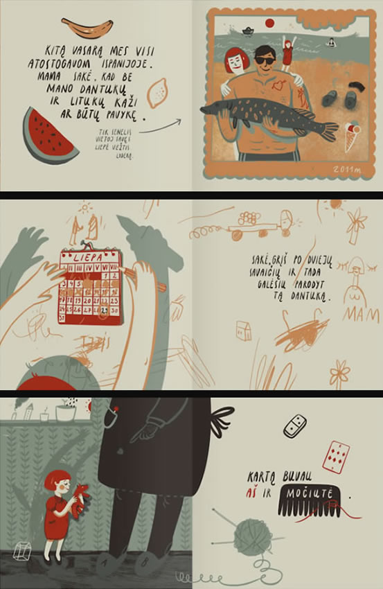 Teeth Teeth Teeth, graphic novel by Karolis Strautniekas