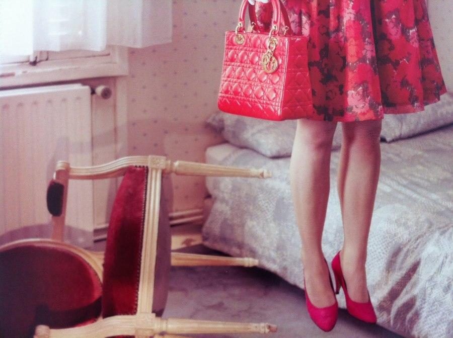 Lady Dior Bag as seen by Kourtney Roy. Credits Vaida K.
