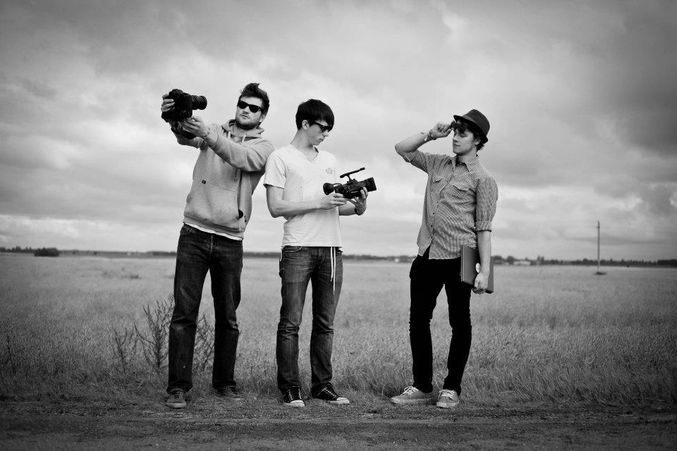 The Team: Edgaras, Saulius, Andrius. Credits Vilnius Temperature