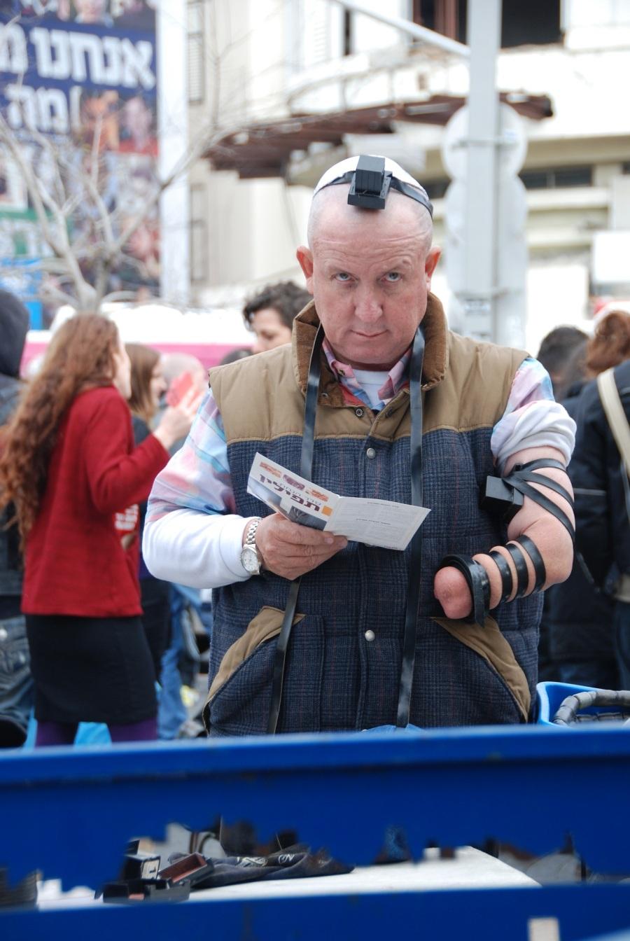 Credits Erez Kaganovits - Humans of Tel Aviv