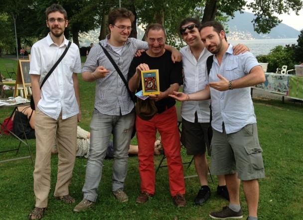 Lettori e editore. Lugano Bloomsday 2013