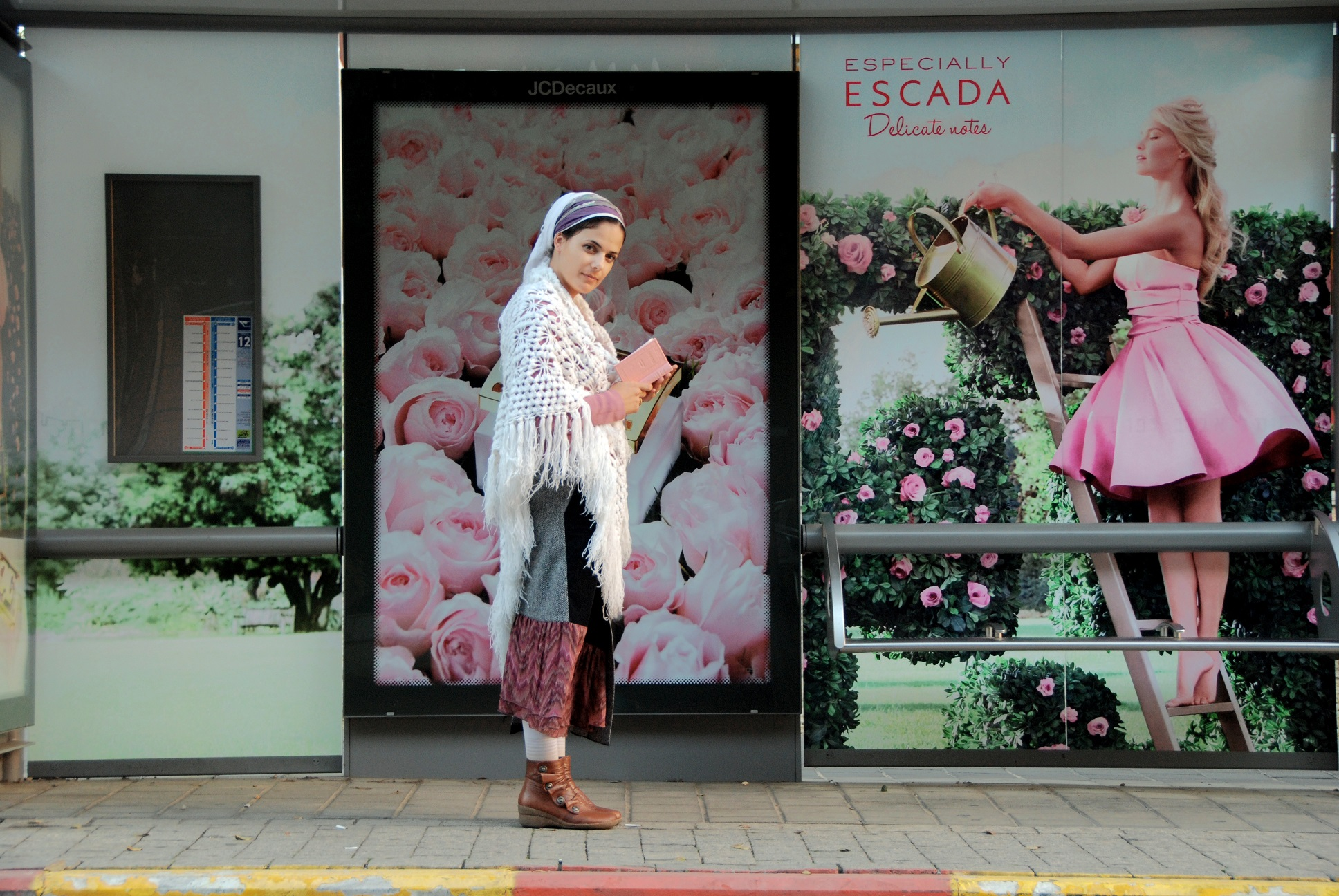 Meet Miri. Credits Erez Kaganovitz - Humans of Tel Aviv
