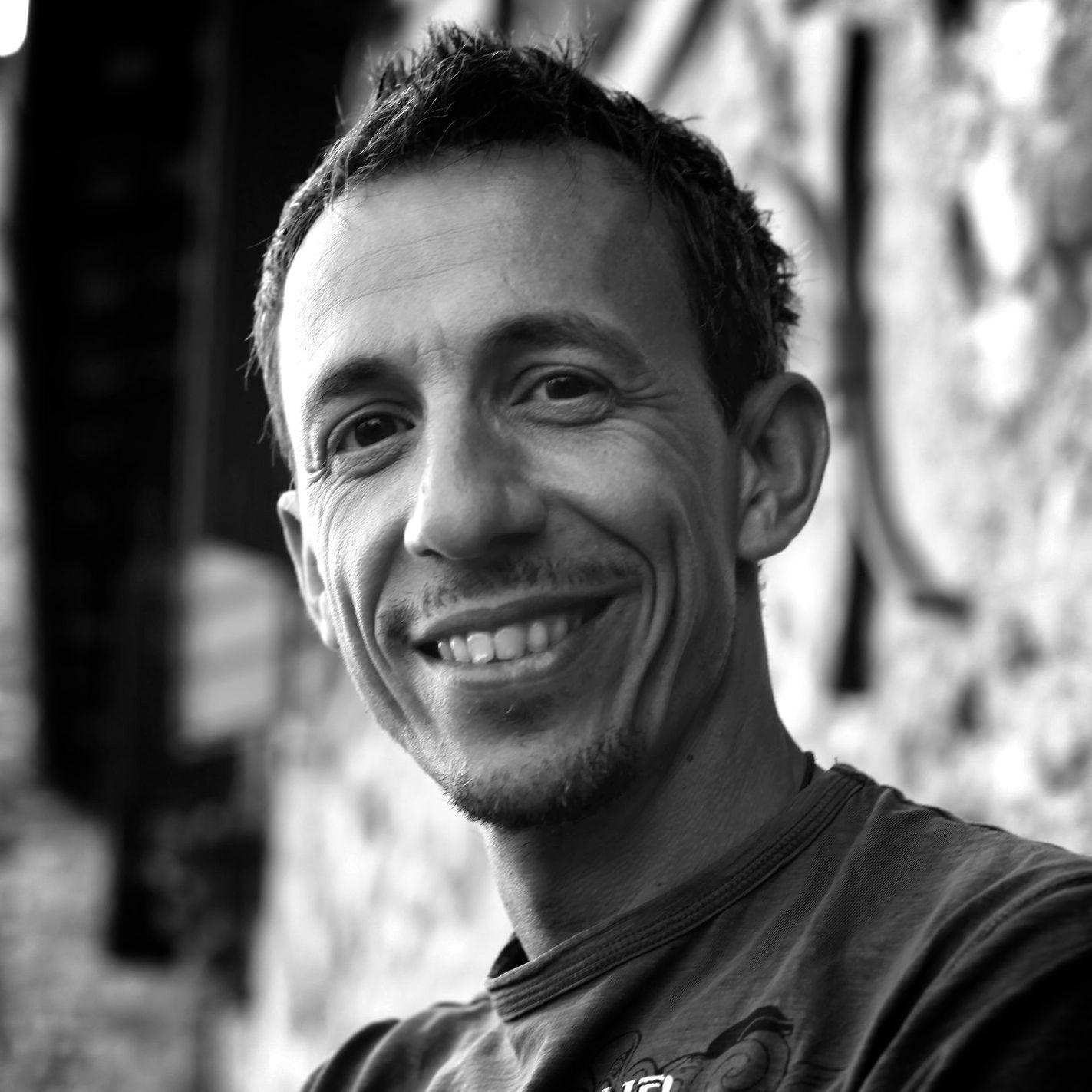 Vitùc, Luxembourg-born Italian filmmaker, poet, photographer. Photo credit: courtesy of the artist.