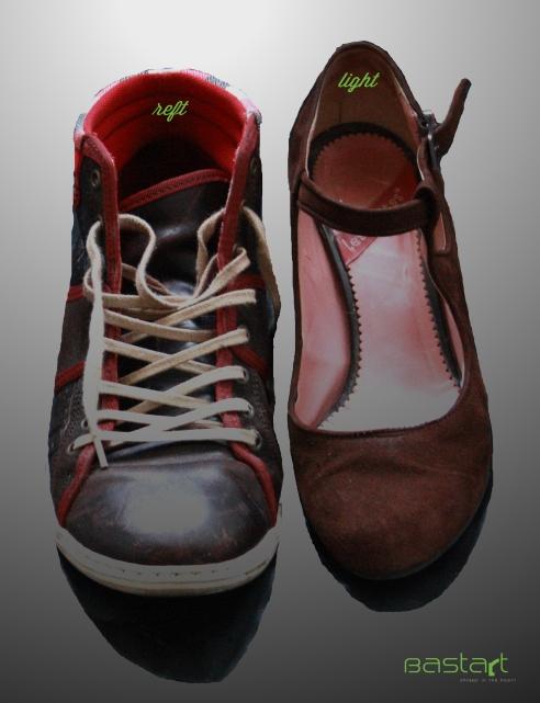 Walking in the Bastart shoes