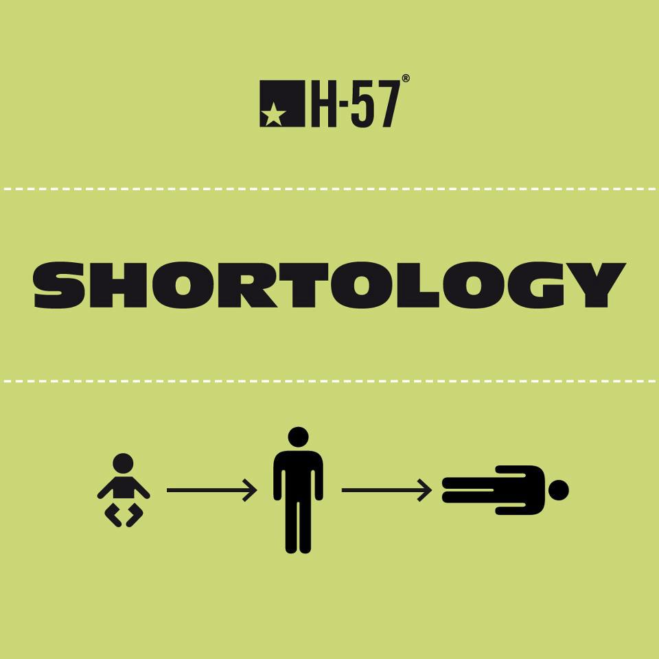 Shortology is a project by H-57, Milan-based creative design and advertising studio. Picture credit H-57