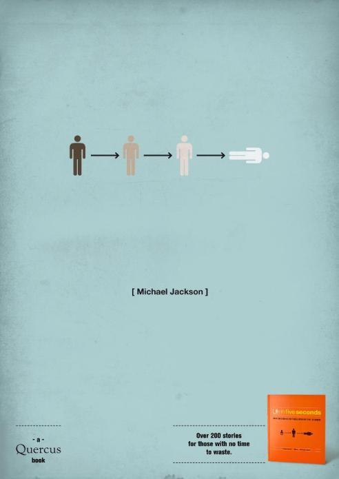 Michael Jackson - Shortology. Picture credit H-57