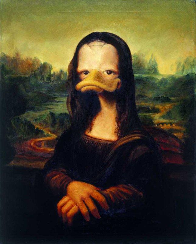 Mona Lisa © interDuck