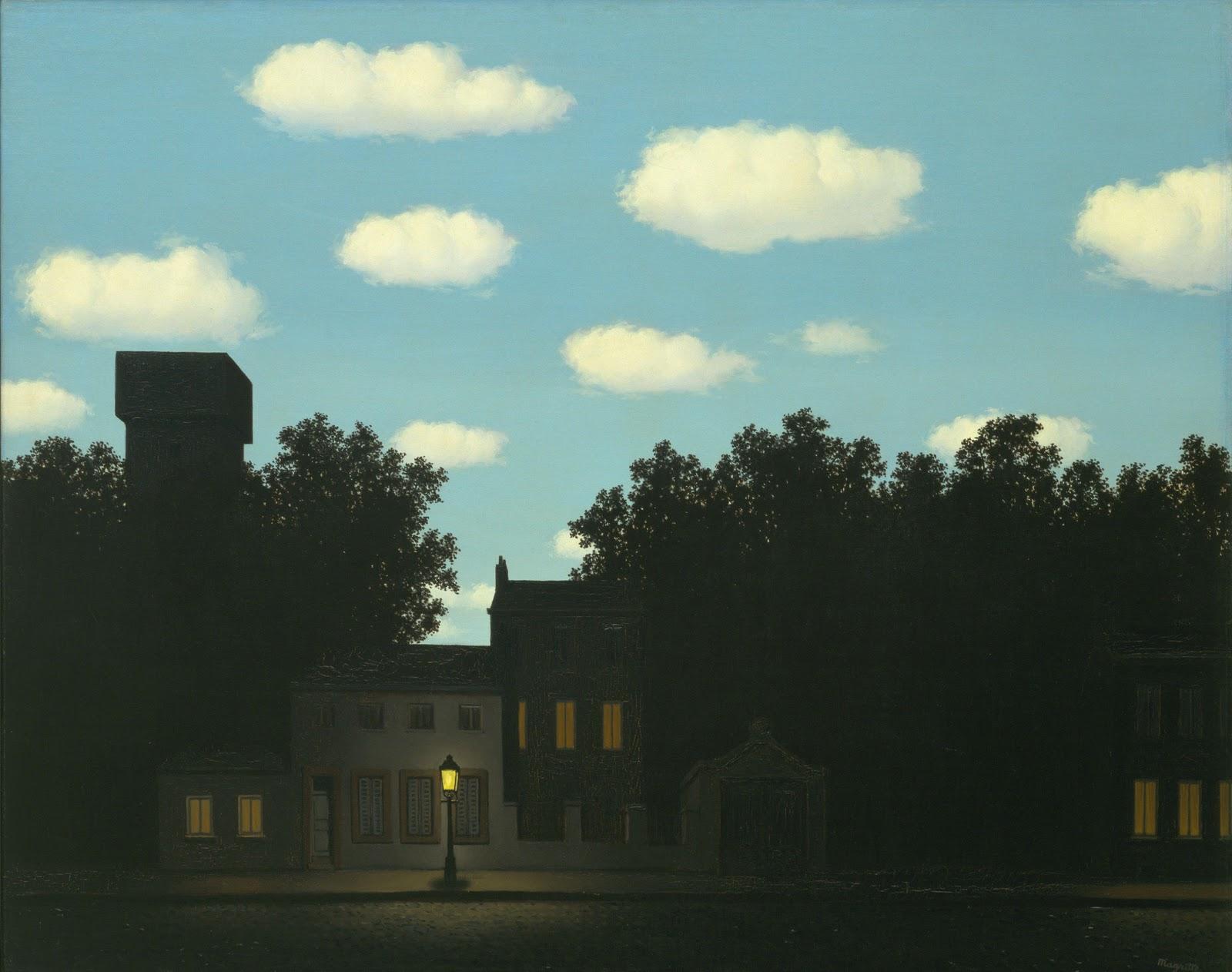 René Magritte - L'empire des lumières
