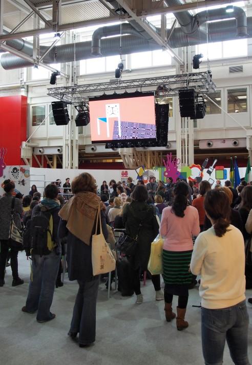 Rimantas Rolia at the Bologna Children's Book Fair 2014