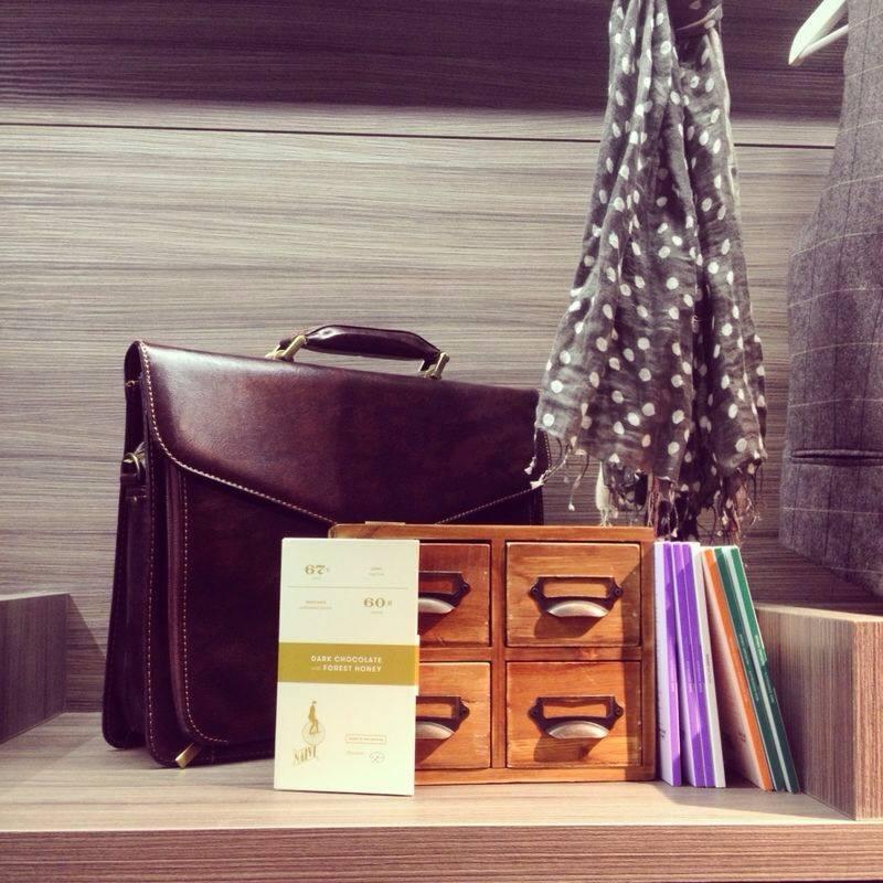 Italian design meets Lithuanian Chocolate. Credit Jurga Po Bastart Magazine