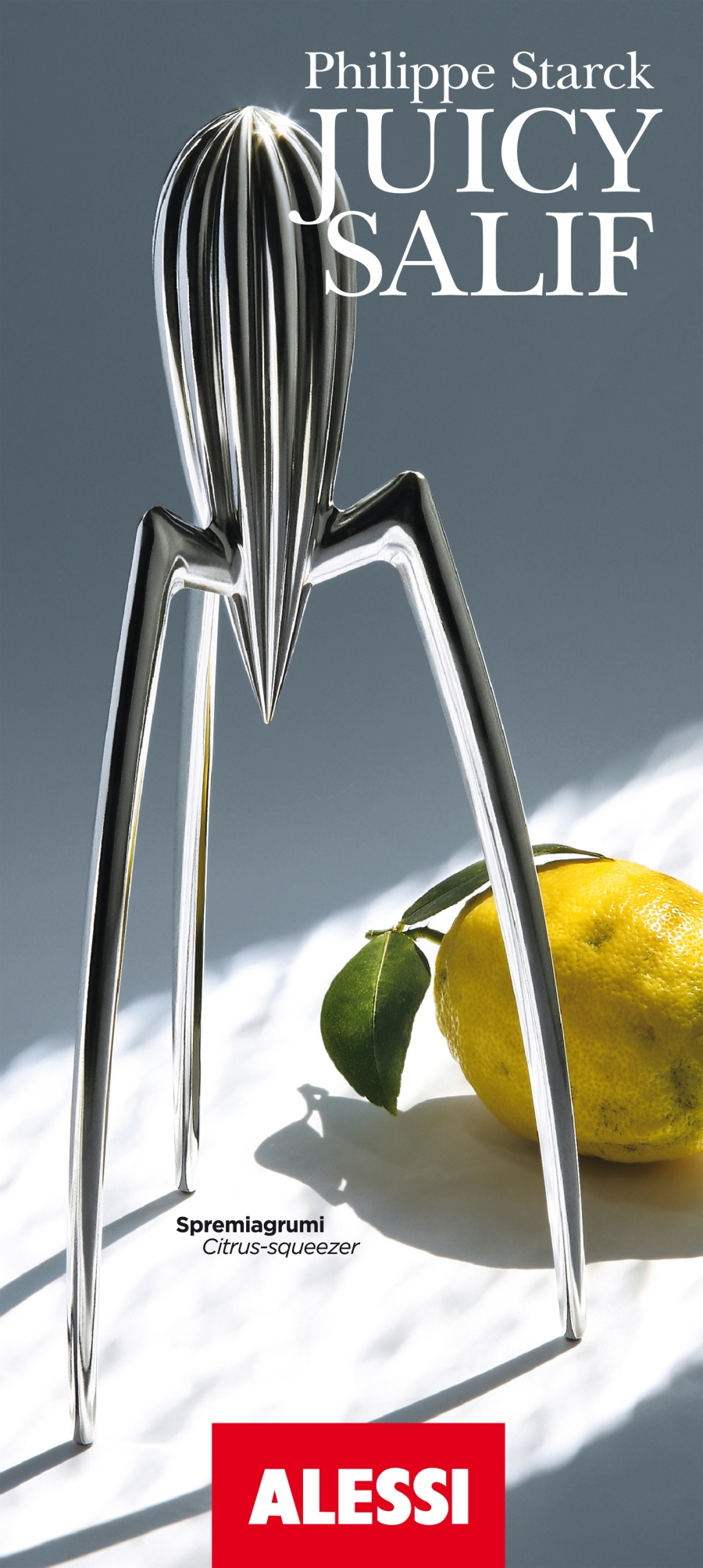 Juicy Salif by Philippe Starck. Credit Alessi
