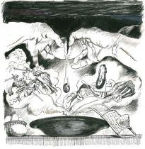 Grazia Nidasio - Francesco I e la zuppa alla pavese | Festival dell'Illustrazione di Pavia - settima edizione