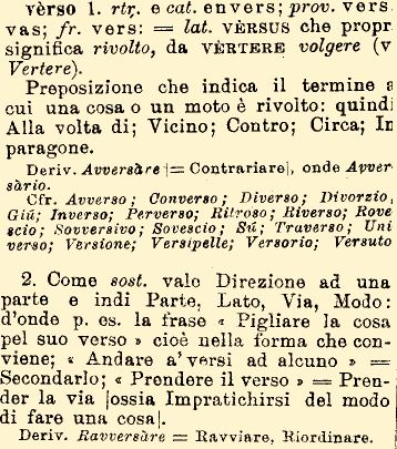 Tratto dal Dizionario Etimologico, www.etimo.it