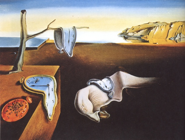 The Persistence of Memory, by Salvador Dalì